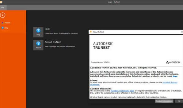 Autodesk,看门狗汉化, TruNest 2020注册版