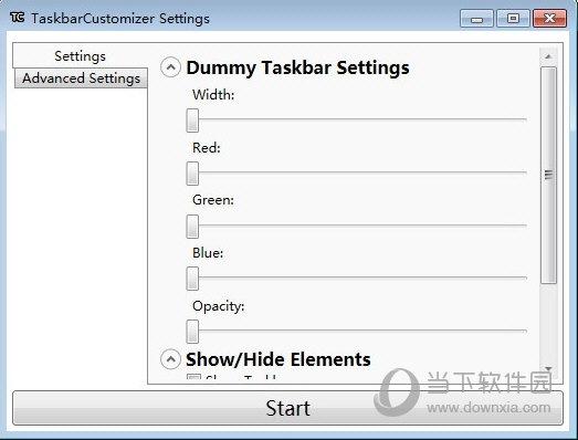 TaskbarCustomizer(任务栏透明度调整软件) V0.1.18 免费版