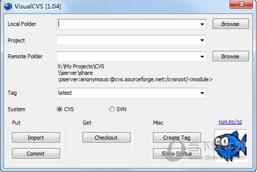 VisualCVS(CVS/SVN上传下载工具) V1.0.4.1 官方版