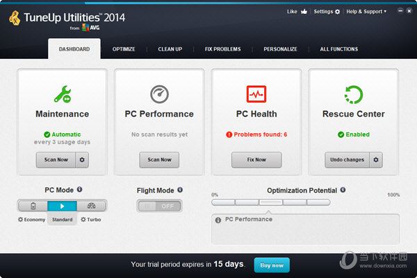 TuneUp Utilities 2014简体中文版 永久免费版
