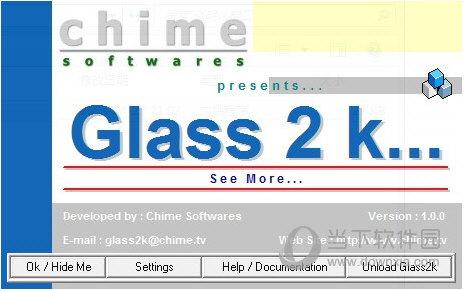 Glass2k(窗口透明工具) V1.0 绿色免费版