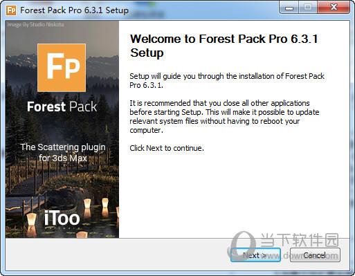 Forest Pack Pro汉化版 V6.3.1