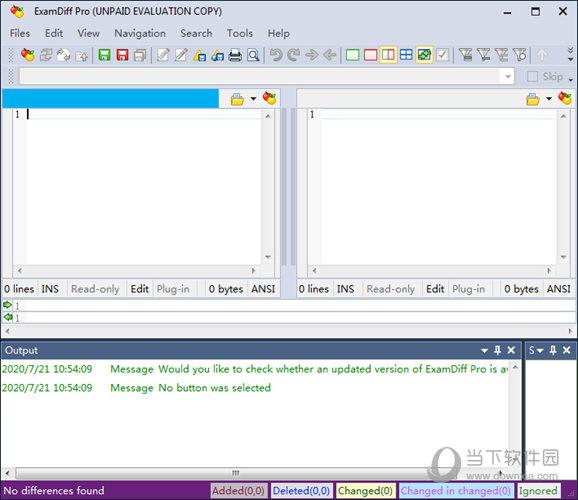 ExamDiff Pro(文件对比工具) V11.0 免费版