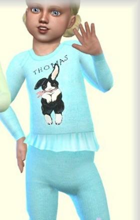 模拟人生4可爱动物幼儿毛衣补丁下载_模拟人生4可爱动物幼儿毛衣MOD