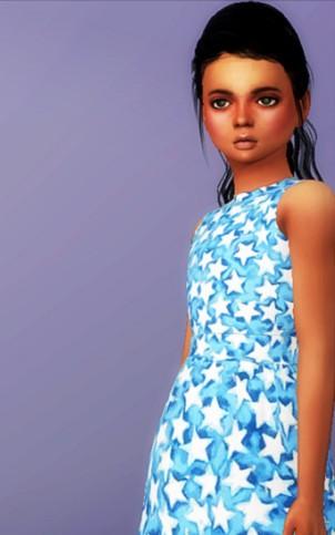 模拟人生4可爱星星连衣裙补丁下载_模拟人生4可爱星星连衣裙MOD