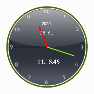 复古表盘时钟软件下载_复