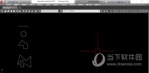 AutoCAD2017怎么移动图形 整体拖动图纸教程