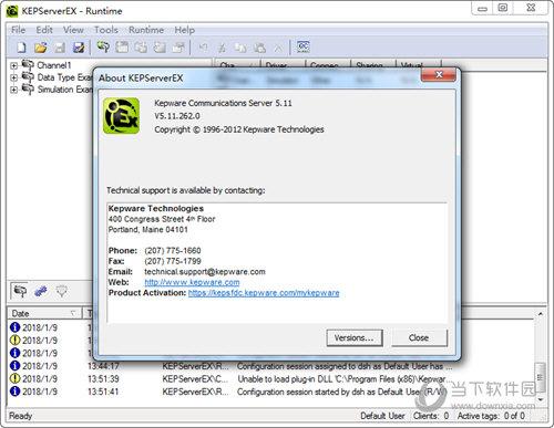 KEPServerEX(OPC服务器) V5.11