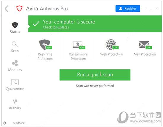 Avira Antivirus Pro 2019(小红伞