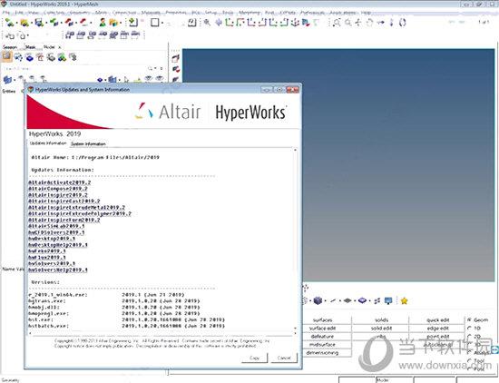 HyperWorks2019破解补丁 V1.0 免费版