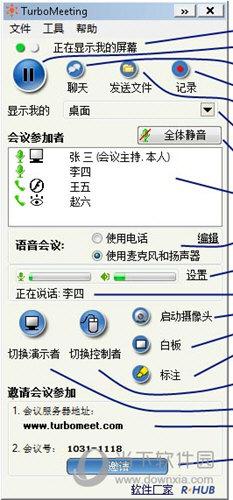 TurboMeeting(连通宝视频会议系统) V7.0.0 中文免费版
