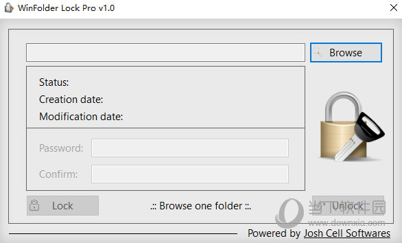 WinFolder Lock Pro(文件夹加密工具) V1.0 绿色版