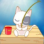 小猫钓鱼游戏破解版_小猫钓鱼游戏下载无限金币破解版 v4.2.12